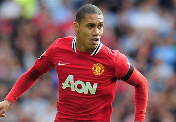 Manchester United's Chris Smalling looking for revenge against City's Sergio Aguero in derby over Europa League heartbreak with Fulham