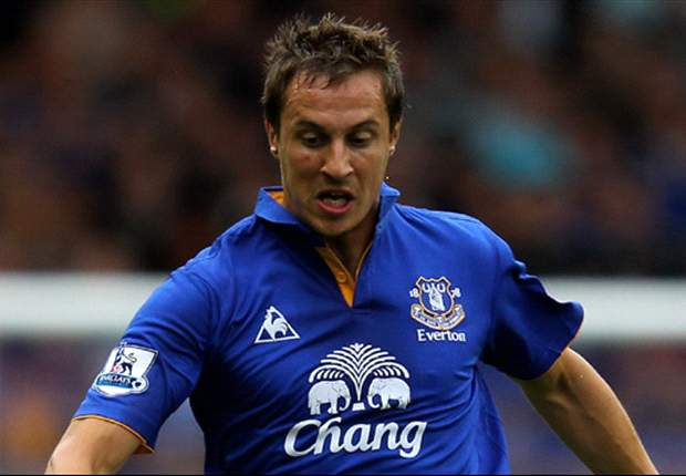 Jagielka insists Toffees are not favorites going into Merseyside derby