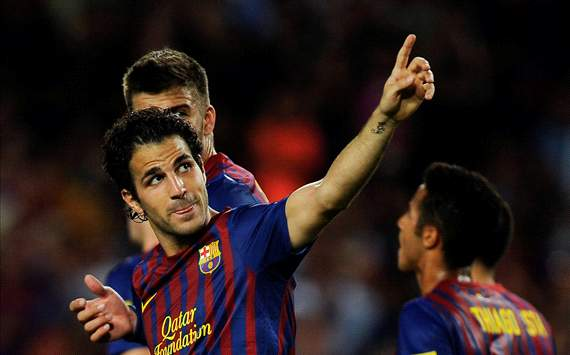 Cesc Fabregas, Barcelona (Getty Images)