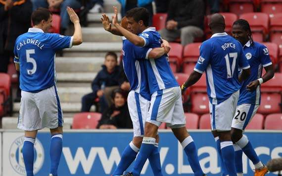 EPL,Franco Di Santo,Wigan Athletic v Queens Park Rangers