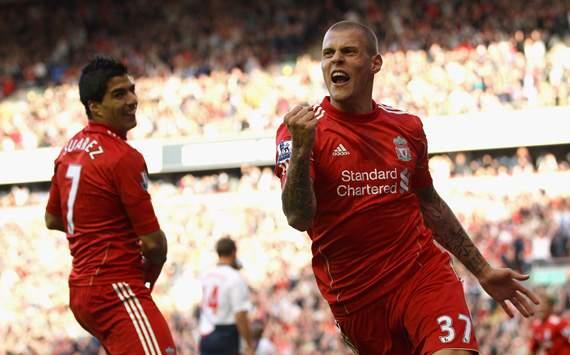 EPL - Liverpool v Bolton Wanderers, Martin Skrtel