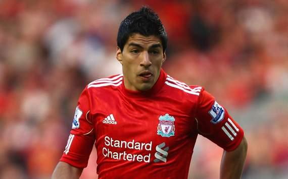 EPL - Liverpool v Bolton Wanderers, Luis Suarez