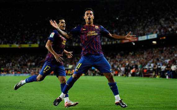 Thiago Alcantara, Barcelona (Getty Images)
