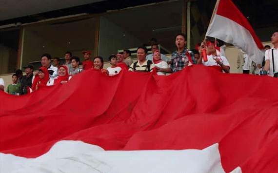 Fans Indonesia di Stadion Azadi