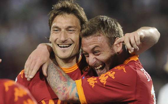 Francesco Totti and Daniele De Rossi - AS Roma (Getty Images)