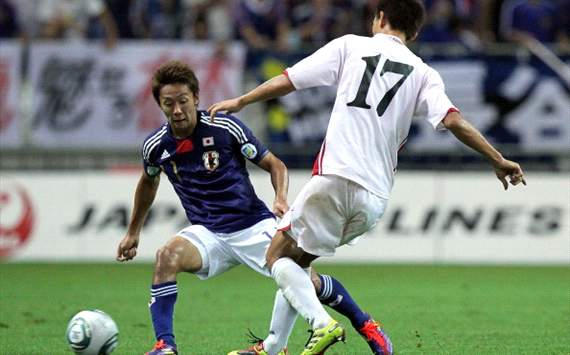 Hiroshi Kiyotake of Japan national team
