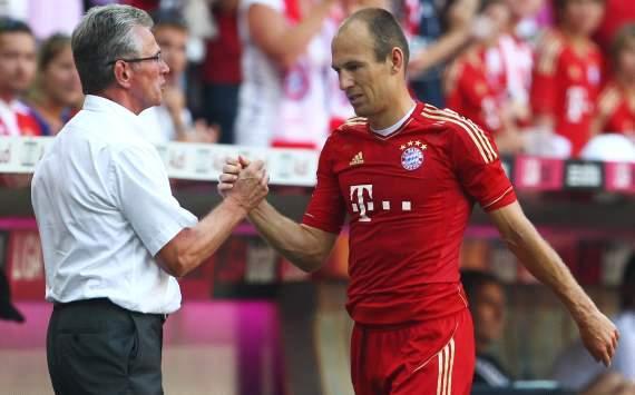 FC bayern Munich, Arjen Robben, Jupp Heynckes
