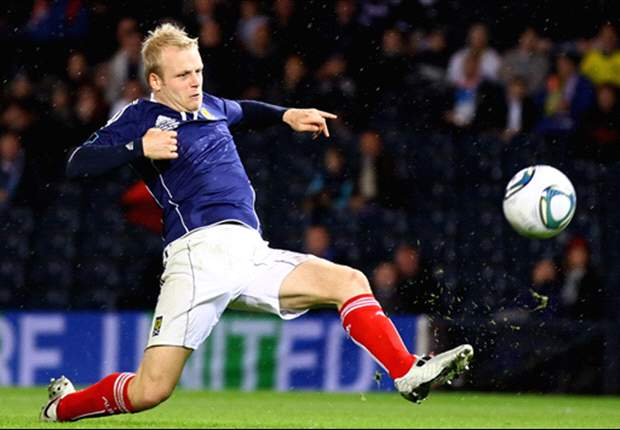 Scotland striker Naismith handed two-game ban by Fifa