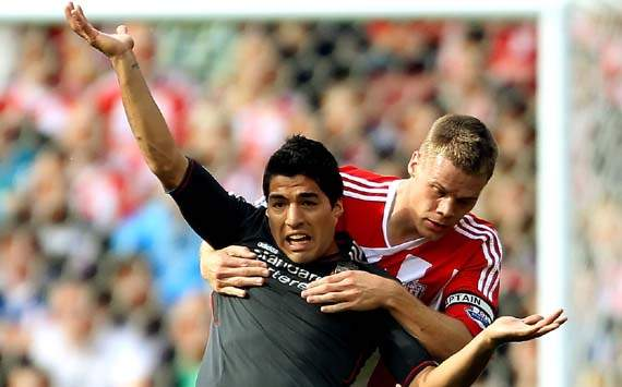 EPL,Luis Suarez,Stoke City v Liverpool