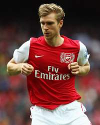 EPL - Arsenal vs Swansea City, Per Mertesacker