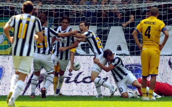 Stephan Lichtsteiner (J) - Juventus-Parma - Serie A (Getty Images)
