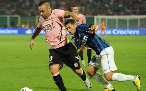 Miccoli-Zarate - Palermo-Inter - Serie A (Getty Images)