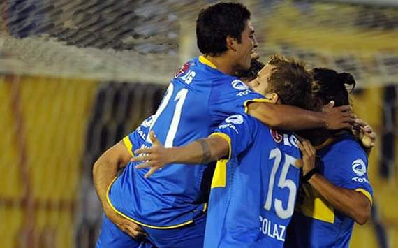 Boca Juniors' Julio Falcioni hails 'fantastic' victory over Colon