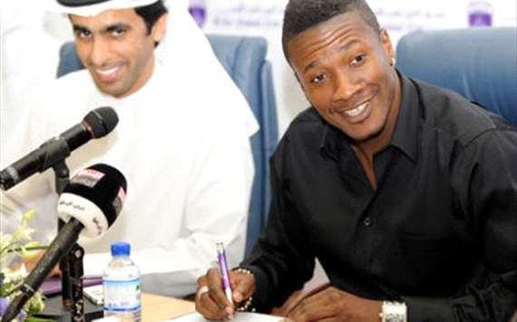 Asamoah Gyan Resmi Tinggalkan Sunderland