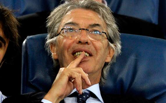Moratti hopes Milan crumble under pressure
