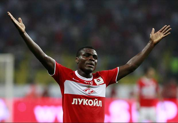 Spartak Moscow's Emmanuel Emenike given conditional season ban for gesture to fans