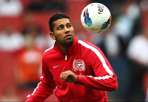 Arsenal's Arsene Wenger: Andre Santos 'out for a while' after injury in Olympiakos defeat