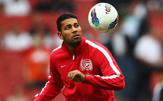 Andre Santos of Arsenal