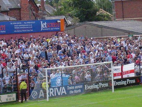 Sheffield Wednesday fans in England