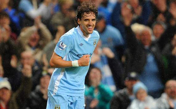 Carling Cup: Owen Hargreaves, Manchester City v Birmingham