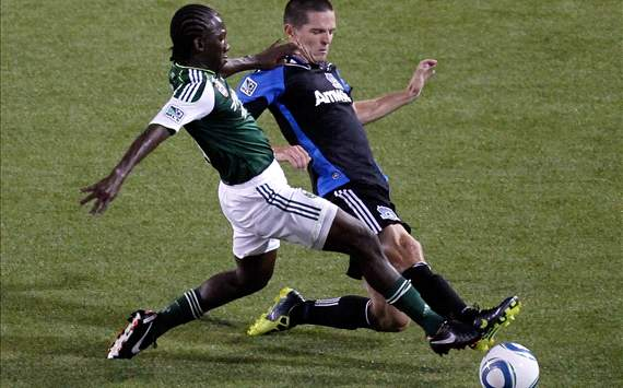 Diego Charra, Portland Timbers; Sam Cronin, San Jose Earthquakes; MLS