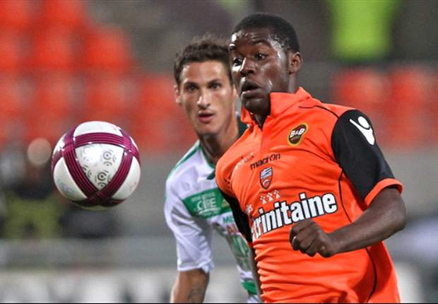 Lorient coach Christian Gourcuff: Joel Campbell will have a great future &amp; Arsenal would not have loaned him out had he obtained a work permit