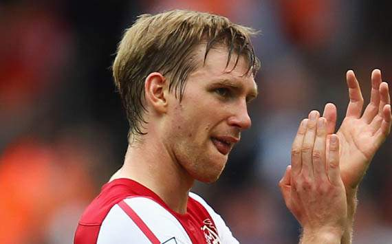 Per Mertesacker of Arsenal