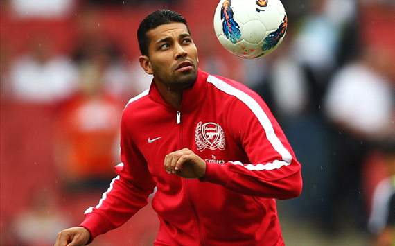 Arsenal defender Andre Santos banned from driving for 12 months after speeding offence
