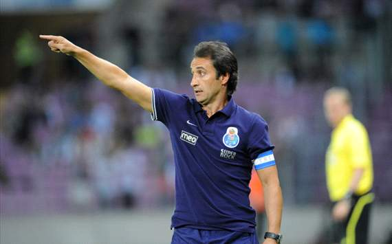 Porto coach Pereira 'counting' on Hulk and Moutinho