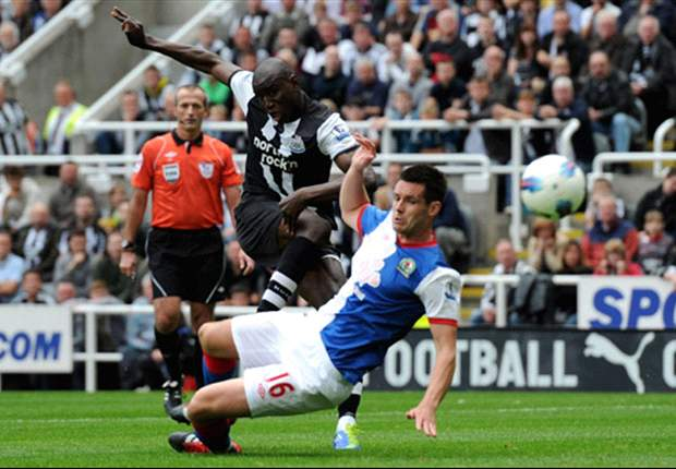 Demba Ba happy to see hard work rewarded with hat-trick for Newcastle United against Blackburn