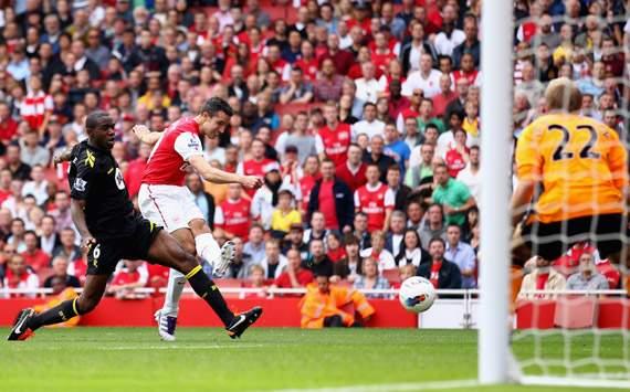 EPL,Robin Van Persie,Arsenal v Bolton Wanderers