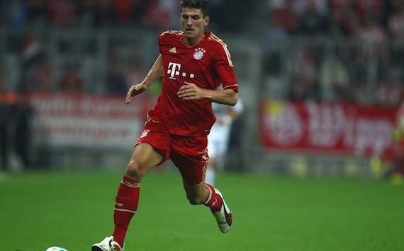 FC Bayern München: Mario Gomez
