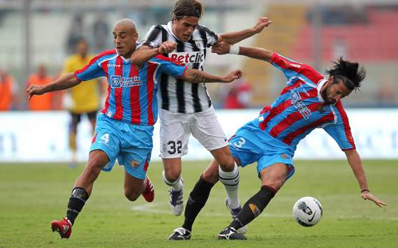Alessandro Matri - Catania-Juventus - Serie A (Getty Images)