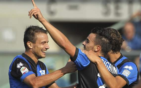 Atalanta celebrating - Atalanta-Novara - Serie A (Getty Images)