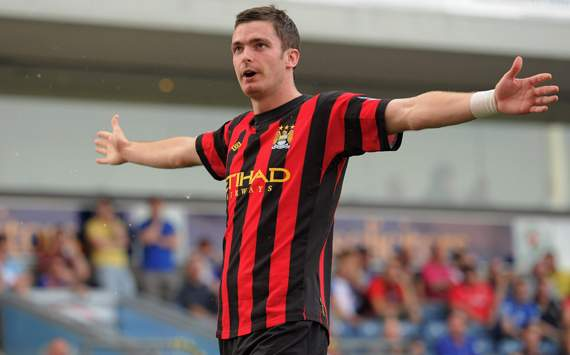 EPL - Blackburn Rovers vs Manchester City, Adam Johnson  