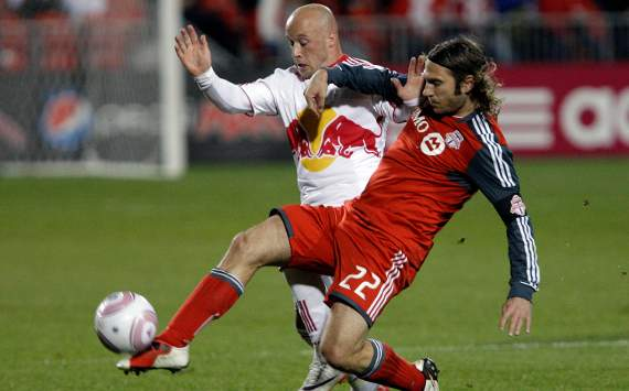 Luke Rodgers, New York Red Bulls; Torsten Frings, Toronto FC; MLS