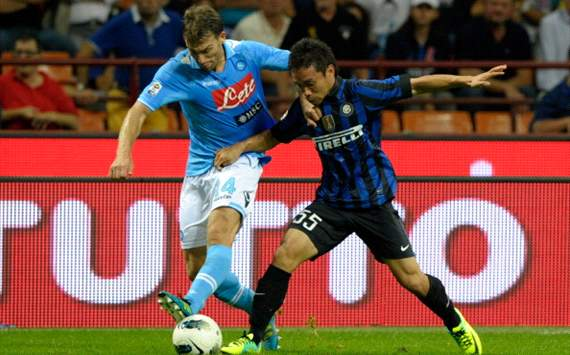 The Serie A battle for third place: The numerous permutations should Napoli, Inter, Udinese &amp; Lazio finish level on points