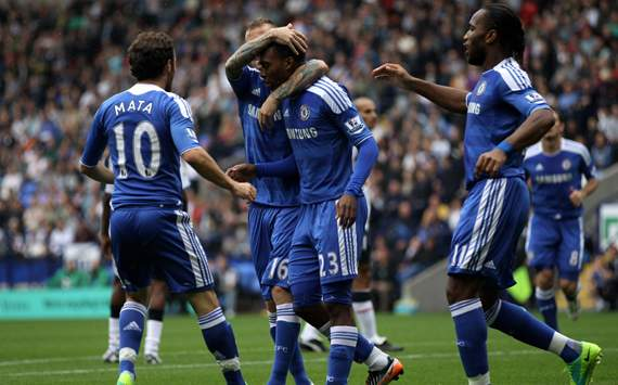 EPL: Daniel Sturridge - Didier Drogba, Bolton Wanderers v Chelsea