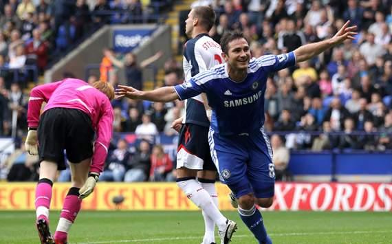 EPL,Frank Lampard,Bolton Wanderers v Chelsea