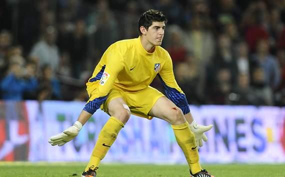 El portero del Atlético de Madrid, Thibaut Courtois