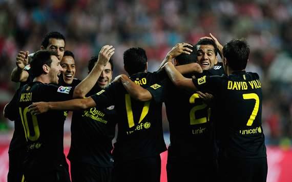 Liga BBVA: Real Sporting de Gijon v FC Barcelona