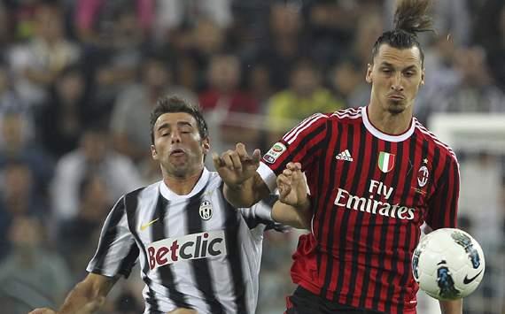 Ibrahimovic-Barzagli - Juventus-Milan - Serie A (Getty Images)