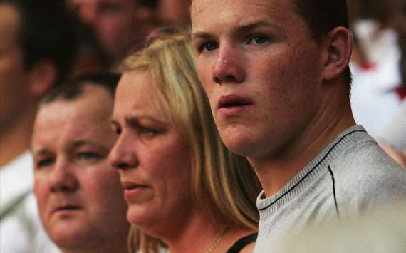 Rooney's Family, Father, Mother and Brother