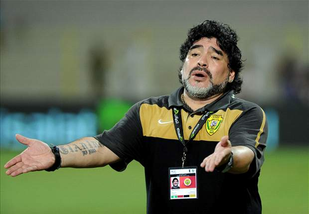 Maradona: I was ecstatic when I heard about Manchester City's comeback