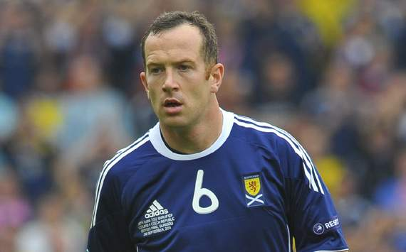 EURO 2012 Qualifier,Charlie Adam,Scotland v Czech Republic