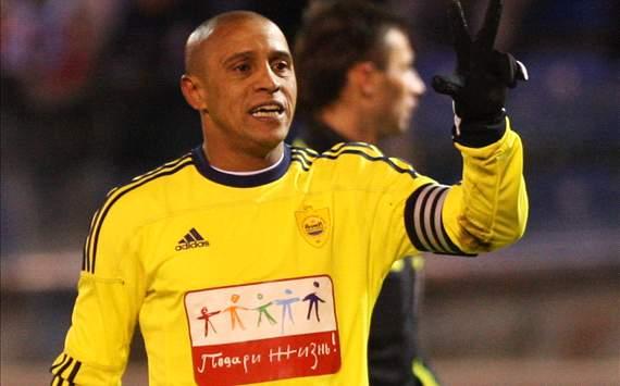 Russian Premier League: Roberto Carlos (Anzhi)