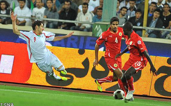 Iran Bahrain