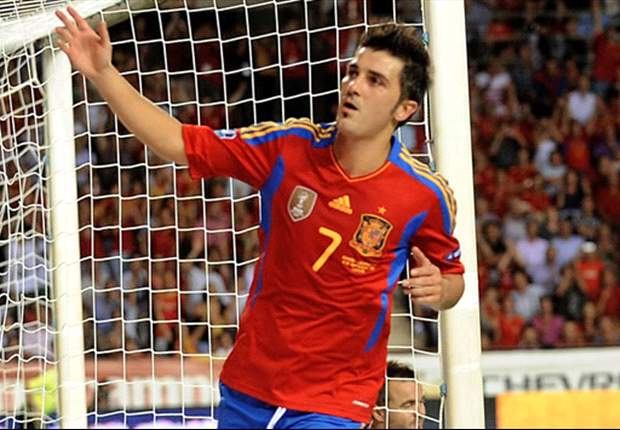 Villa delighted with goalscoring comeback for Spain