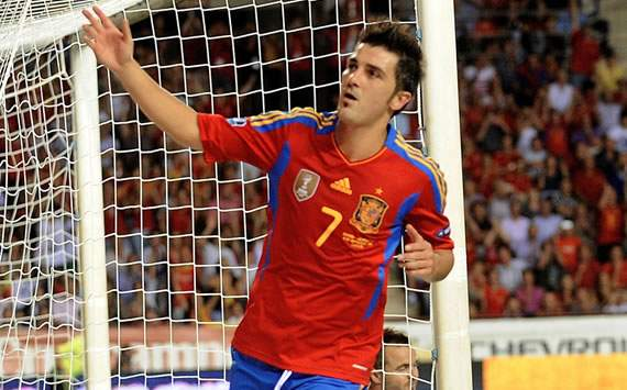 Nearly 40 per cent of readers think David Villa will be the player missed most at Euro 2012