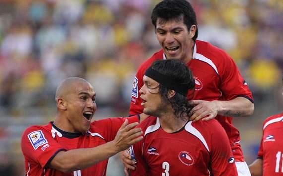 Suazo, Ponce y Medel - Chile